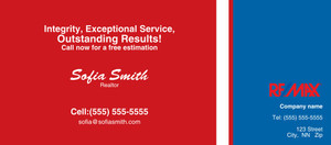 Button to customize design -Re/Max Flyers Template: 313156