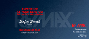 Button to customize design -Re/Max Flyers Template: 315500