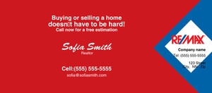 Button to customize design -Re/Max Flyers Template: 313142