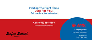 Button to customize design -Re/Max Flyers Template: 313143