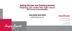 Button to customize design -Keller Williams Flyers Template: 313216