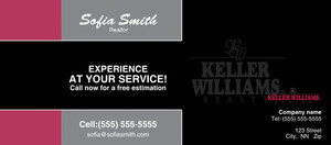 Button to customize design -Keller Williams Flyers Template: 315454