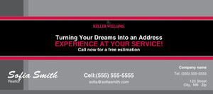 Button to customize design -Keller Williams Flyers Template: 313219
