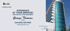 Button to customize design Commercial Building Flyers Template: 310843