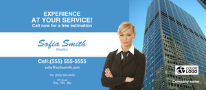Button to customize design Commercial Building Flyers Template: 310829
