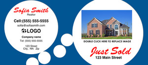 *Just Sold / Listed Flyers Template: 319141