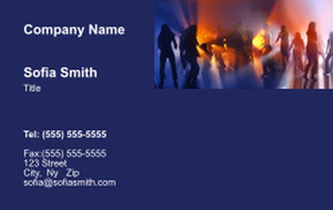 Top Picks Arts Business Cards Credit Card Template: 354456