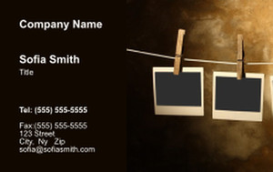 Top Picks Arts Business Cards Credit Card Template: 354453