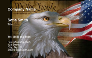 USA Business Cards Credit Card Template: 335872