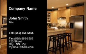 Kitchens Business Cards Credit Card Template: 319594