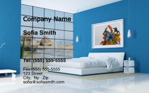 Bedrooms Business Cards Credit Card Template: 327805