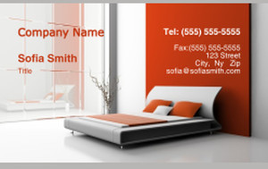 Bedrooms Business Cards Credit Card Template: 327773