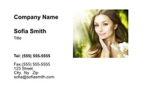 Massage - Reflexology Business Cards Credit Card Template: 348123