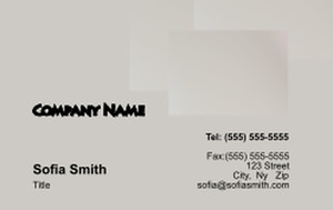 Manicure Business Cards Credit Card Template: 354589