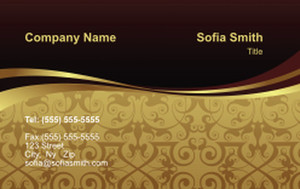 Top Picks Business Cards Credit Card Template: 354490