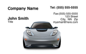 Cars Business Cards Credit Card Template: 318301
