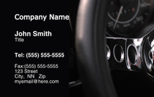 Cars Business Cards Credit Card Template: 318332