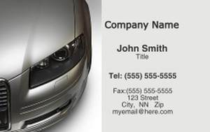 Cars Business Cards Credit Card Template: 318269