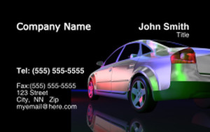 Cars Business Cards Credit Card Template: 318293