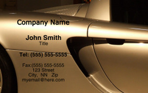 Cars Business Cards Credit Card Template: 318298