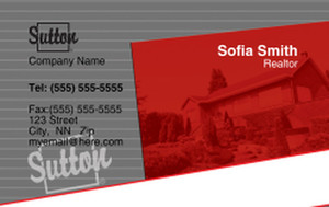 Sutton Business Cards Credit Card Template: 327091