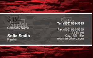Sutton Business Cards Credit Card Template: 327092