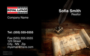 Royal Le Page Business Cards Credit Card Template: 327087