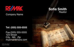 Remax Business Cards Credit Card Template: 326996