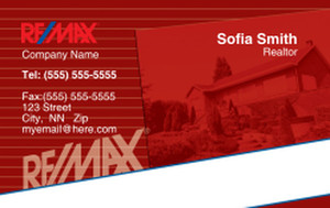 Remax Business Cards Credit Card Template: 326997