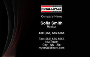 Royal Le Page Business Cards Credit Card Template: 327070