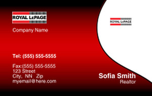 Royal Le Page Business Cards Credit Card Template: 327081