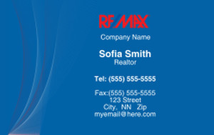 Remax Business Cards Credit Card Template: 326984
