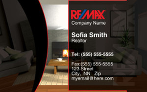 Remax Business Cards Credit Card Template: 326988