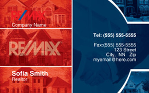 Remax Business Cards Credit Card Template: 326990