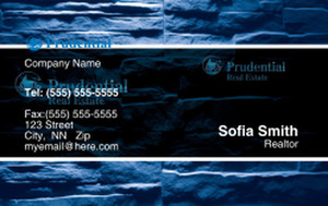 Prudencial Business Cards Credit Card Template: 327069