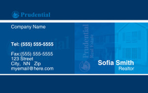 Prudencial Business Cards Credit Card Template: 327066