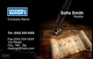 Coldwell Banker Business Cards Credit Card Template: 327023