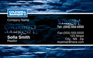 Coldwell Banker Business Cards Credit Card Template: 327027