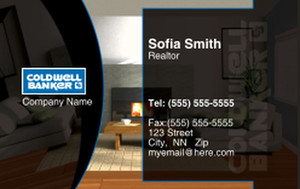 Coldwell Banker Business Cards Credit Card Template: 327028