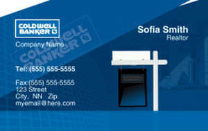 Coldwell Banker Business Cards Credit Card Template: 327029