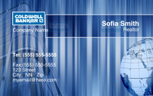 Coldwell Banker Business Cards Credit Card Template: 327033