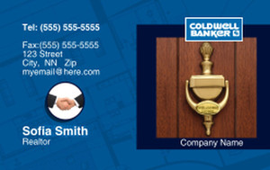Coldwell Banker Business Cards Credit Card Template: 327035