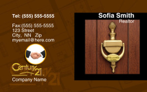 Century 21 Business Cards Credit Card Template: 327011