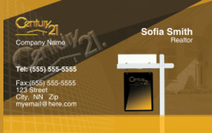 Century 21 Business Cards Credit Card Template: 327017