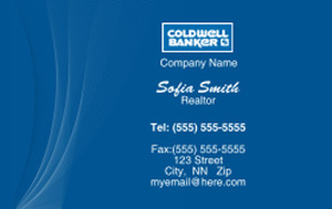 Coldwell Banker Business Cards Credit Card Template: 327019