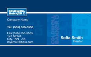 Coldwell Banker Business Cards Credit Card Template: 327024