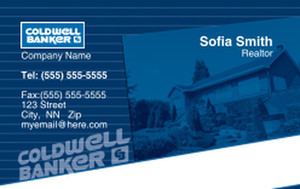 Coldwell Banker Business Cards Credit Card Template: 327026