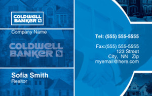 Coldwell Banker Business Cards Credit Card Template: 327030