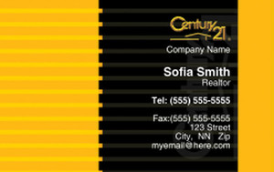 Century 21 Business Cards Credit Card Template: 327014