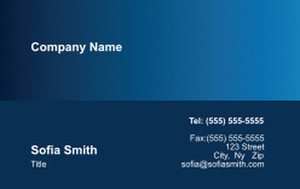 Unified  Design Business Cards Credit Card Template: 354413